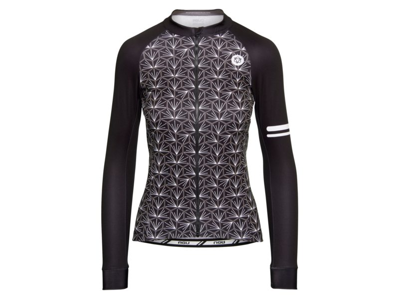 EAN-code: 2181003045088 Brand: AGU Product: SHIRT L.M. TILE DAMES ZWART/WIT at cycleXperience.nl