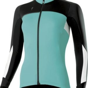 EAN-code: 2181003047389 Brand: SPECIALIZED Product: WINTERJACKET ELEMENT ROUBAIX COMP DAMES TURQUOISE/WIT/ZWAR at cycleXperience.nl