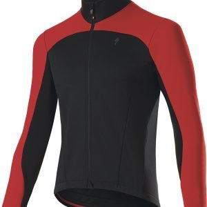 EAN-code: 2181003047488 Brand: SPECIALIZED Product: WINTERJACKET ELEMENT ROUBAIX SPORT ZWART/ROOD at cycleXperience.nl
