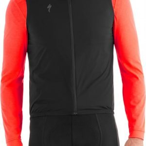 EAN-code: 2181003047747 Brand: SPECIALIZED Product: WINDVEST DEFLECT ZWART at cycleXperience.nl