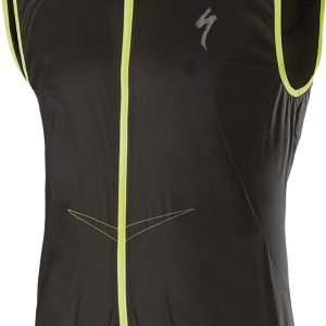 EAN-code: 2181003047761 Brand: SPECIALIZED Product: WINDVEST DEFLECT COMP ZWART at cycleXperience.nl