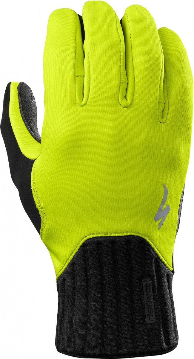 EAN-code: 2181003052246 Brand: SPECIALIZED Product: WINTER DEFLECT NEON YELLOW at cycleXperience.nl