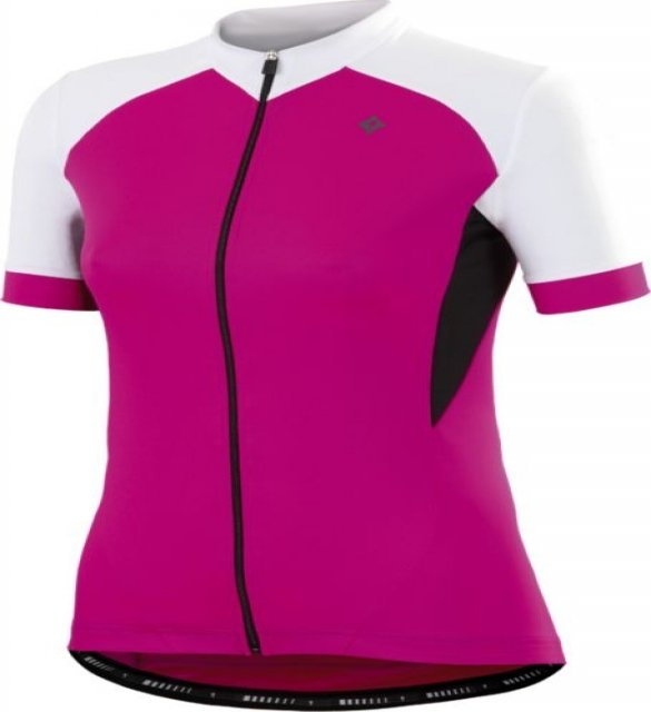 EAN-code: 2181003053786 Brand: SPECIALIZED Product: SHIRT K.M. DAMES ROUBAIX SPORT WIT/ROZE at cycleXperience.nl