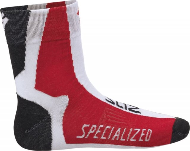 EAN-code: 2181003068360 Brand: SPECIALIZED Product: SOKKEN THERMOLITE ROOD/WIT at cycleXperience.nl