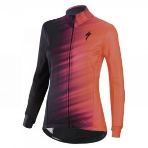 EAN-code: 2181003202849 Brand: SPECIALIZED Product: JACK ROUBAIX ELEMENT COMP DAMES ZWART/LAVA at cycleXperience.nl