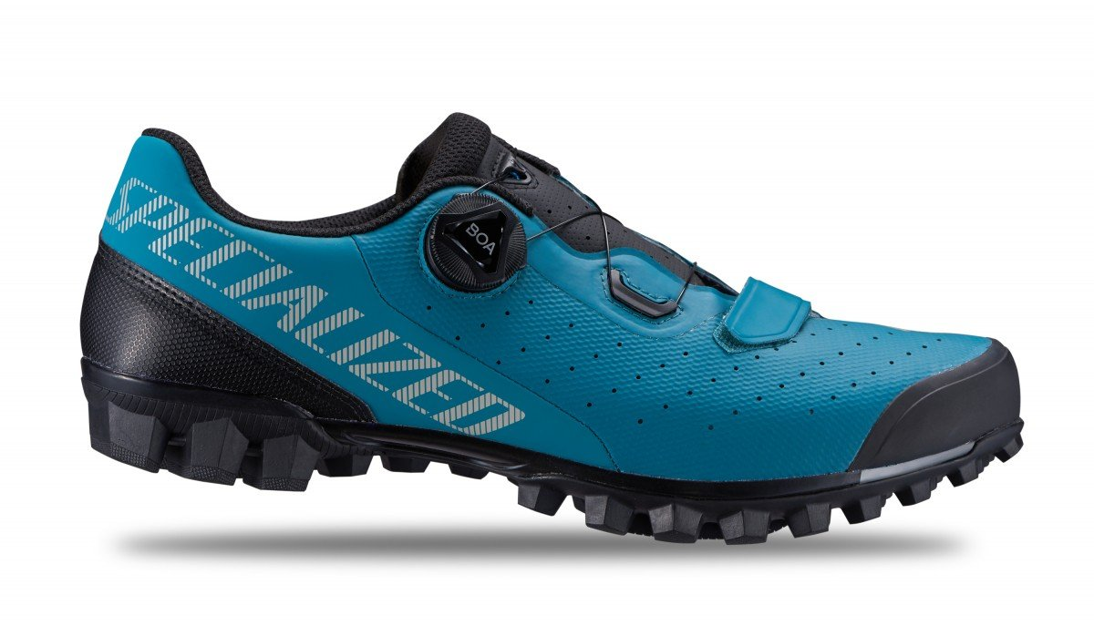 EAN-code: 2181003329386 Brand: SPECIALIZED Product: SCHOENEN MTB RECON 2.0 DUSTY TURQOISE at cycleXperience.nl