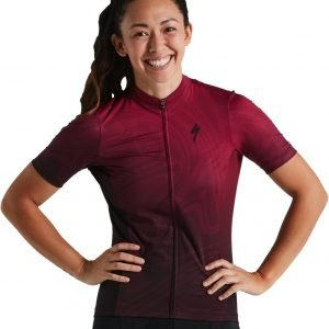 EAN-code: 2181003993808 Brand: SPECIALIZED Product: SHIRT K.M. ROUBAIX COMP DAMES RUBY WINE at cycleXperience.nl