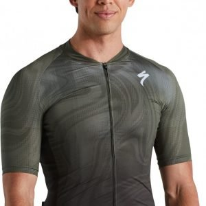 EAN-code: 2181004014649 Brand: SPECIALIZED Product: SHIRT K.M. SL MILITARY GREEN at cycleXperience.nl