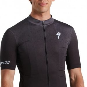 EAN-code: 2181004015042 Brand: SPECIALIZED Product: SHIRT K.M. ROUBAIX COMP BLACK/ANTHRACITE at cycleXperience.nl