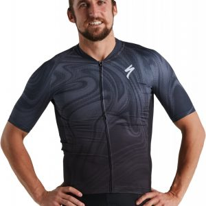 EAN-code: 2181004134422 Brand: SPECIALIZED Product: SHIRT K.M. SL ZWART at cycleXperience.nl