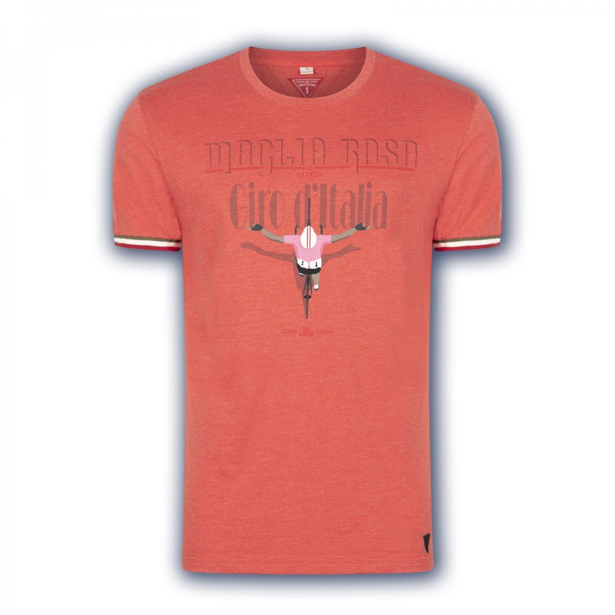 EAN-code: 2181004196222 Brand: LE PATRON Product: SHIRT K.M. MAGLIA ROSA ROOD at cycleXperience.nl
