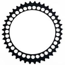 EAN-code: 2192302945573 Brand: ROTOR Product: KETTINGBLAD 39/130 Q-RINGS ZWART at cycleXperience.nl