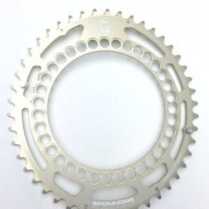 EAN-code: 2192302954612 Brand: ROTOR Product: KETTINGBLAD 46/130 Q-RINGS ZILVER BUITENBLAD at cycleXperience.nl