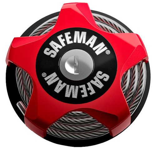 EAN-code: 4041843000327 Brand: SAFEMAN Product: KABELSLOT 75CM/4MM (Part-No: BB71) at cycleXperience.nl