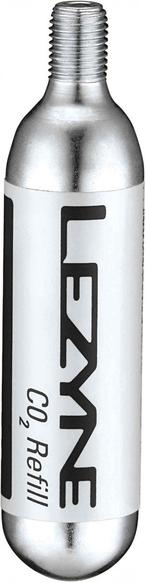 EAN-code: 4712805996636 Brand: LEZYNE Product: PATROON CO2 20G CO2 ZILVER (Part-No: 1-C2-CRTDG-V120) at cycleXperience.nl