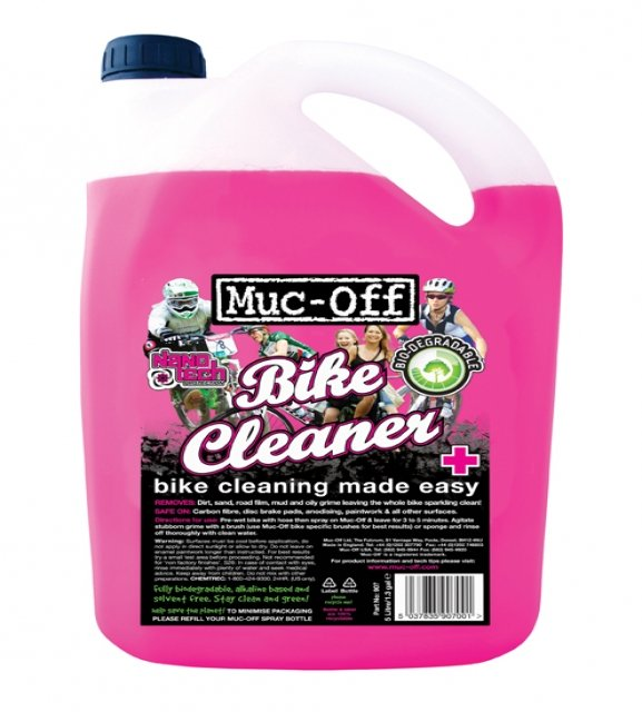 EAN-code: 5037835907001 Brand: MUC OFF Product: MUC-OFF BIKE CLEANER 5 LITER (Part-No: 424601) at cycleXperience.nl