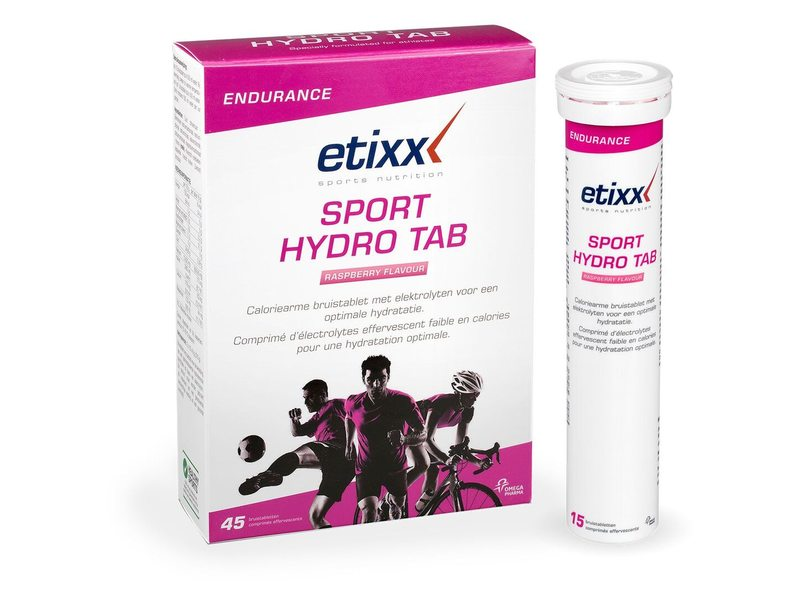 EAN-code: 5414963023672 Brand: ETIXX Product: SPORTSDRINK ISOTONIC 15 TABLETS PER KOKER FRAMBOOS (Part-No: 515330) at cycleXperience.nl