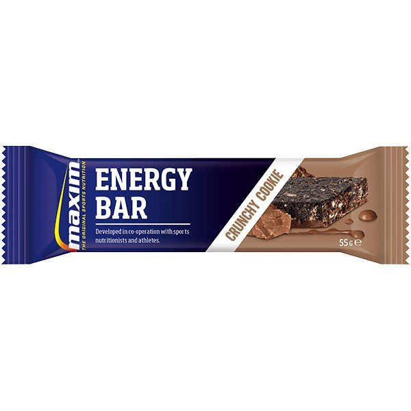 EAN-code: 5704190111335 Brand: MAXIM Product: ENERGY BAR 55GR CRUNCHY COOKIE (Part-No: 702007) at cycleXperience.nl