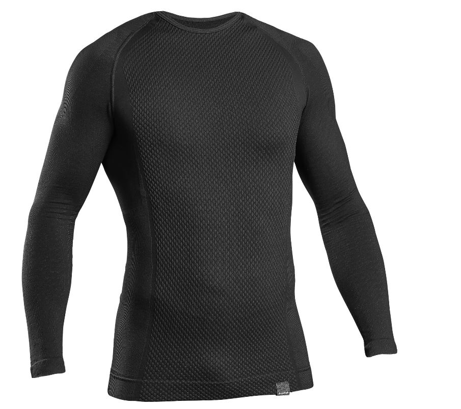 EAN-code: 5708486009481 Brand: GRIPGRAB Product: ONDERSHIRT LANGE MOUWEN MAAT XS/S EXPERT SEAMLESS THERMAL BASE LAYER ZWART (Part-No: 601001565) at cycleXperience.nl