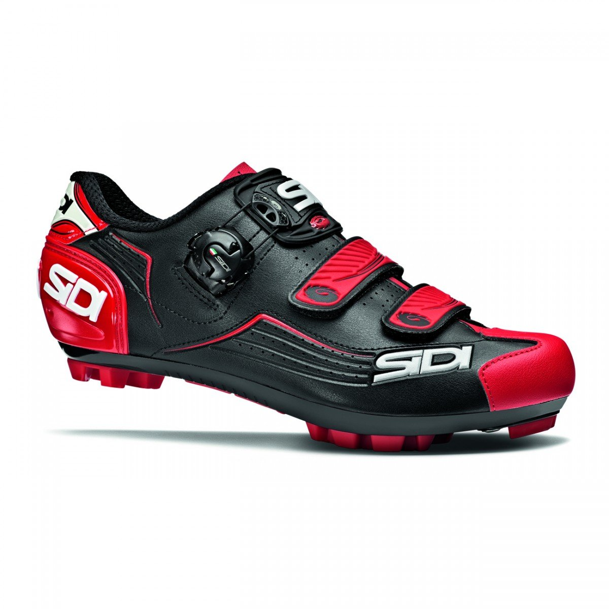 EAN-code: 8017732499691 Brand: SIDI Product: SCHOENEN MTB MAAT 43 TRACE ZWART/ROOD (Part-No: MCTRACE-NERO-43) at cycleXperience.nl