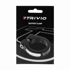 EAN-code: 8718223001491 Brand: TRIVIO Product: ZADELPENKLEM 34.9MM ALU ZWART (Part-No: THV028562) at cycleXperience.nl
