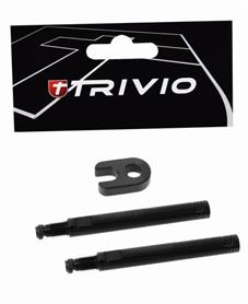 EAN-code: 8718223001590 Brand: TRIVIO Product: VENTIEL VERLENGER SET 50MM ZWART (Part-No: THV029216) at cycleXperience.nl