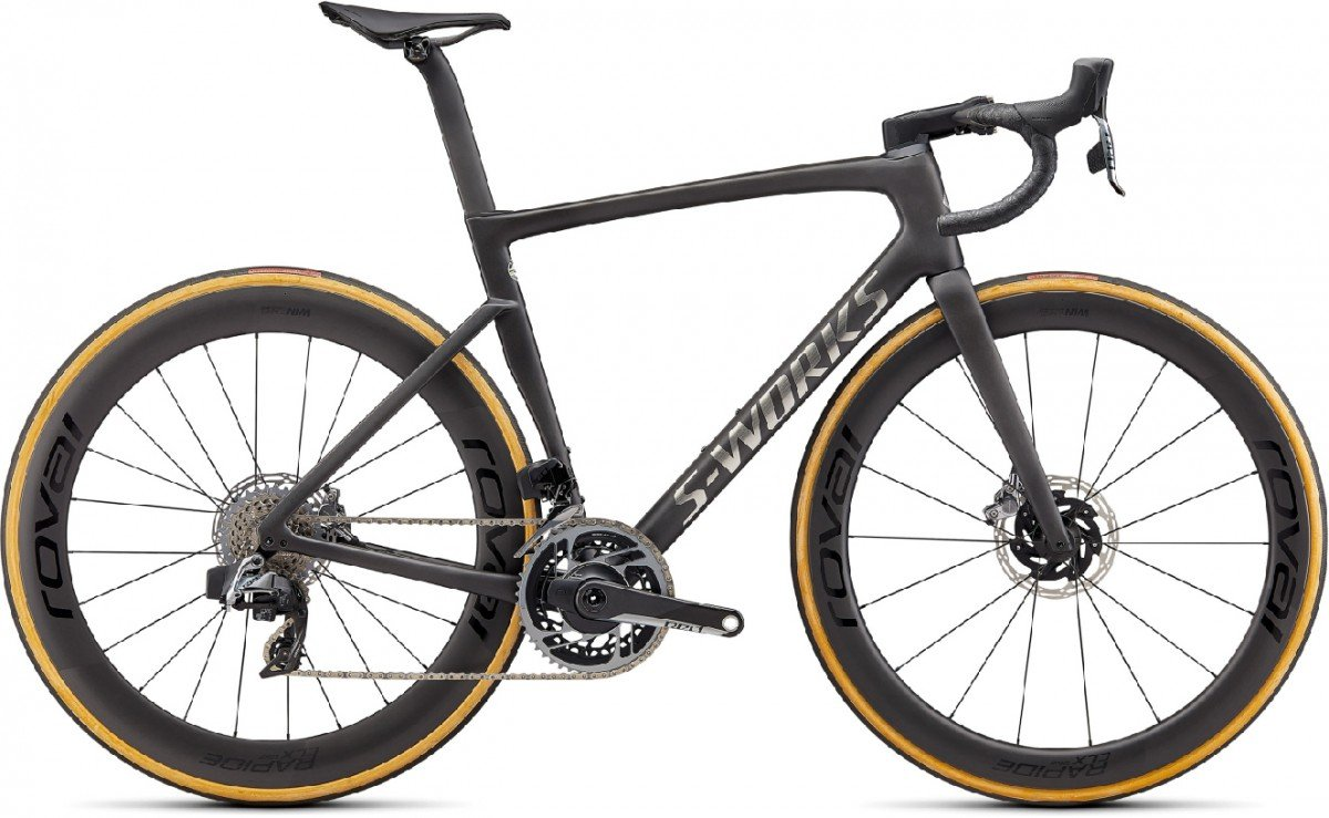 EAN-code: 90622-0256 Product: SPECIALIZED S-WORKS TARMAC SL7 - SRAM RED ETAP AXS, SATIN CARBON / SPECTRAFLAIR TINT / GLOSS BRUSHED C (Part-No: 90622-0256) at cycleXperience.nl